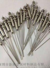 不锈钢毛细管精密无缝管医用注射针管侧孔针磨尖缩尖