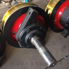 铸造吊运行车轮组φ800×150双边主动行车车轮组
