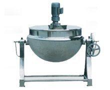 可倾式夹层锅、搅拌缸