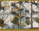 供应精品铁艺楼梯,大型消防楼梯,玻璃发光楼梯,钢结构楼梯