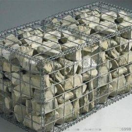 热镀锌石笼网箱厂家 格宾六角网 高尔凡石笼网 定做雷诺护垫
