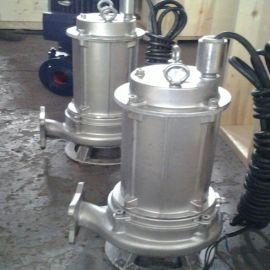 城市污水泵站用WQD不锈钢排污泵