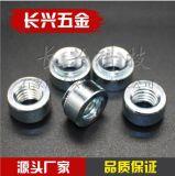 廠家直銷環保藍白鋅壓板螺母S-M2.5--M10