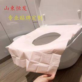 一次性馬桶垫加长旅行便携式产妇旅游酒店粘粘式厕所坐垫纸垫便套
