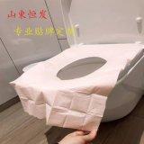 一次性馬桶墊加長旅行攜帶型產婦旅遊酒店粘粘式廁所坐墊紙墊便套