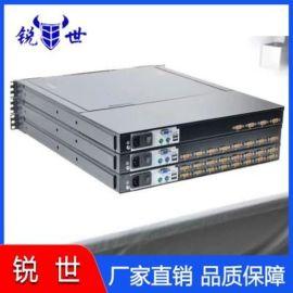 锐世led液晶17寸4口kvm切换器一体机1u机架控制台显示器厂家