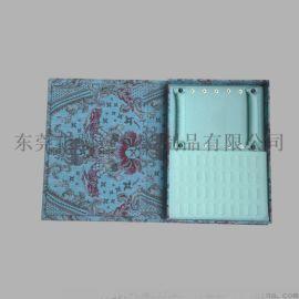 首飾盒專櫃珠寶飾品收納木盒 書本式禮品包裝盒
