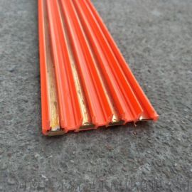 无接缝滑触线  起重机3芯4芯紫铜滑线