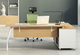 胶板办公台02A-12款 绿色环保实木颗粒板
