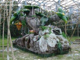 广州金马园林雕塑设计 精品园林雕塑 园林雕塑展示