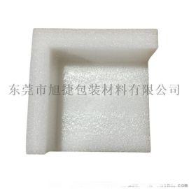 東莞塘廈EPE珍珠棉護角白色泡棉片材