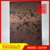 红铜发黑做旧不锈钢板定制厂家