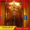 KTV装饰304不锈钢铜门厂家