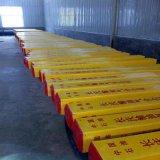 標誌樁 玻璃鋼紅白百米樁 工地標誌樁選購方法