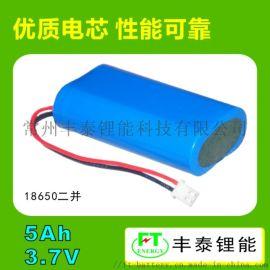 18650锂电池PACK 3.7V5Ah 承接定制