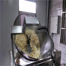 半自动豆泡油炸锅 自动出锅豆腐泡半自动油炸机