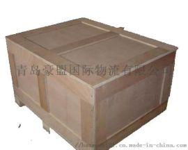 青岛木托盘厂家供应出口免熏蒸木箱 可上门量尺寸
