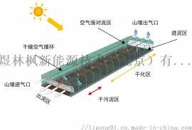 煜林枫太阳能污泥干燥温室