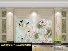 江西抚州大理石艺术电视墙厂家定制促销