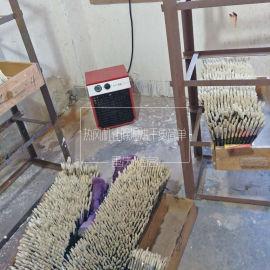 深圳胶水烘干机笔刷笔头刷子吹干6KW工业电热吹风机