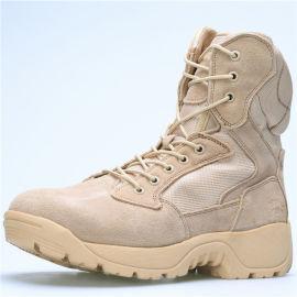 堂踏鞋业透气登山靴高腰靴子沙漠靴户外靴厂家