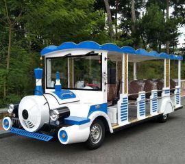 单节车厢仿小火车18座电动小火车