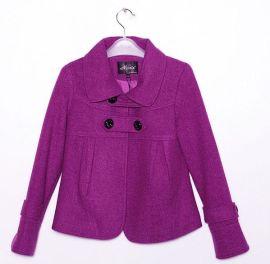 韩版女装09新款羊毛外套(98049)