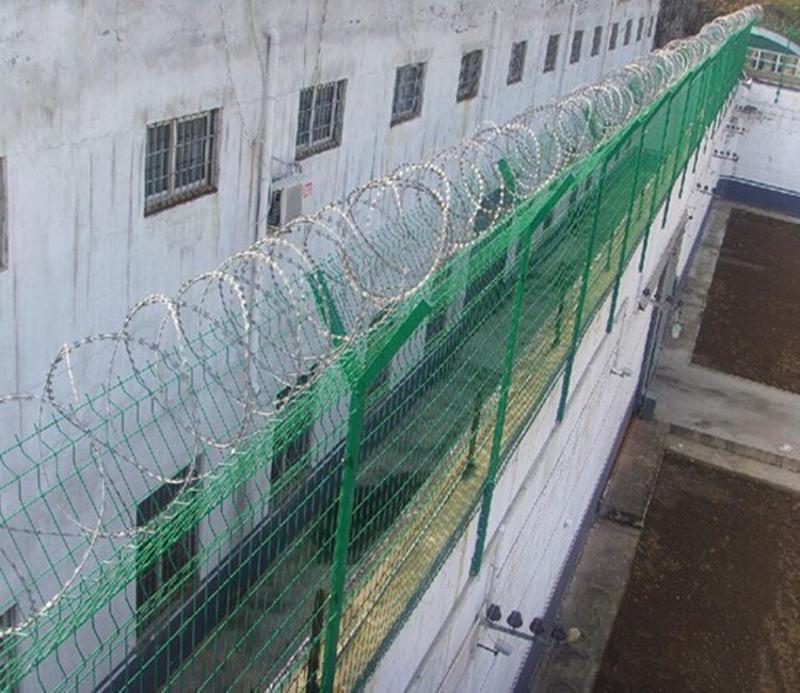 沃达供应Y型护栏网 蛇腹型隔离网 防攀爬护网 监狱焊接隔离栅