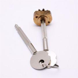 機械鎖芯 2開1銅材質機械鎖芯 雙開十字鎖芯鎖具瑞安廠商