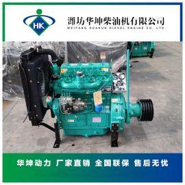 粉碎机用柴油机三种型号发动机柴油发动机总成带离合器全国联保