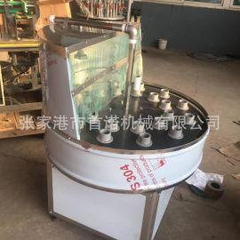 供应对夹式洗瓶机 多功能洗瓶机 饮料瓶清洗  广口瓶洗瓶机