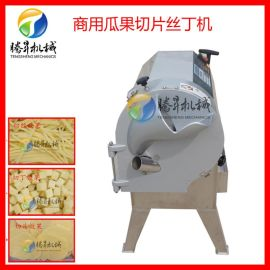 电动土豆胡萝生姜切片切丝机 切波浪薯片机