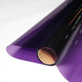 销售紫色玻璃防爆膜 玻璃改色膜玻璃太阳膜