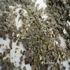 供应无石棉银白色蛭石 出口银白色蛭石片