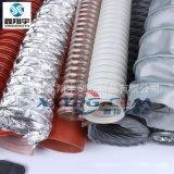 耐高温伸缩通风软管,阻燃防火高温风管,耐热风管,耐酸碱高温软管