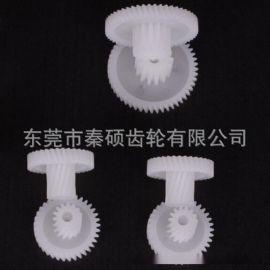 东莞市秦硕供应M0.5左旋塑胶斜齿轮低噪音耐磨损价格优厂家直销