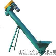 氧化锌水平螺旋输送上料机,碳酸钙远距离输送螺旋输送设备
