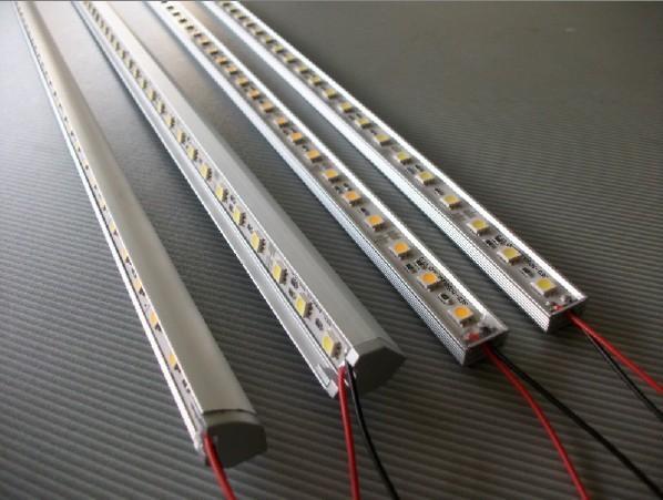 led硬灯条,60灯/M,5050铝槽U/V型