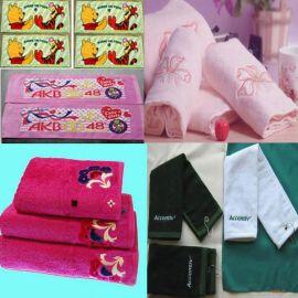 印花毛巾,天鵝絨毛巾,禮品毛巾