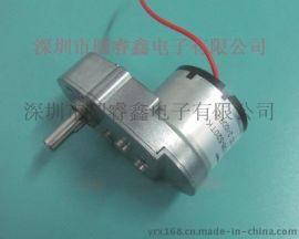 供应圆睿鑫YGY6138-520TB电子锁电机 用减速电机 超薄款齿轮箱马达