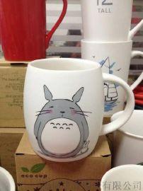 定制广告陶瓷马克杯 广告杯定制LOGO 创意陶瓷杯子礼品杯咖啡杯