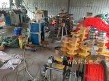 青島塑料軟管TPU PU氣動軟管生產線設備