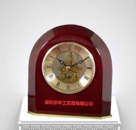 创意闹钟 齿轮钟 外贸DIY新款时尚设计 木质台钟 工艺钟表厂定制
