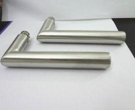 不锈钢门把手 直角门执手 19mm不锈钢房门锁执手锁