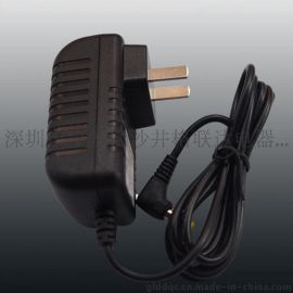 dc弯头12V1A开关电源 路由器电源 12v电源 白色外壳电源