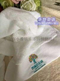 廠家直供訂制廣告酒店高級外貿鍛邊繡花純棉面巾浴巾
