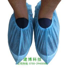 无纺布鞋套脚套一次性加厚批发家用无尘机房布防滑耐磨环保鞋套
