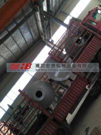 供应宏博HB型直燃式供暖热风炉卧式热风炉燃气热风炉天然气热风炉