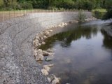 南京河床舖砌雙隔板格賓網、河道治理雷諾護墊、水利建設石籠網