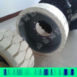 充气式实心轮胎 压配式实心轮胎 28*9-15轮胎